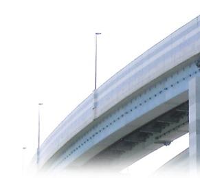 高速道路でも防食塗装を施工しています