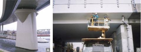 コンクリート構造物の補修・補強実績(1)