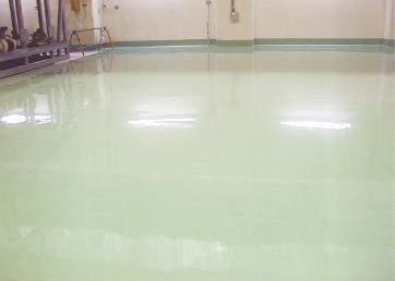 塗床工事の実績(1)